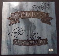 "Jon Bon Jovi Music Legend Signed ""new Jersey"" Australian 1st Press Album Jsa Loa"