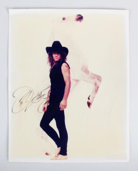 Jon Bon Jovi Signed 8×10 Photo – COA JSA