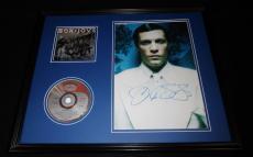 Jon Bon Jovi Signed Framed 16x20 CD & Photo Display JSA