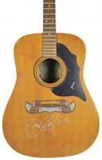 Jon Bon Jovi Signed Framus Acoustic Guitar Autographed BAS #D06915