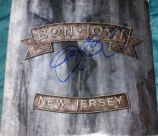 "Jon Bon Jovi Signed Full Name Autograph ""new Jersey"" Album With Vinyl Lp & Coa"
