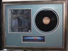 "JON BON JOVI signed/framed ""New Jersey""  album display-JSA Authenticated"
