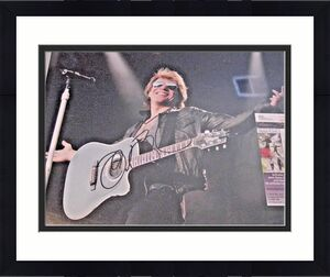 Jon Bon Jovi,famous Singer,actor Jsa/coa Signed 11x14 Photo