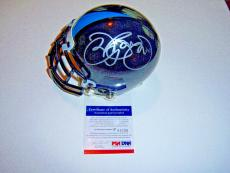 Jon Bon Jovi,ron Jaworski Philadelphia Soul Owners Psa/dna Signed Mini Helmet