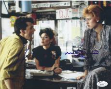 Jon Cryer & Molly Ringwald Signed 'pretty In Pink' 8x10 Photo Autograph Jsa Coa