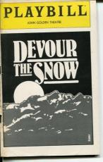 Jon DeVries Stephen Joyce Sarah Inglis Devor The Snow Opening Night Playbill