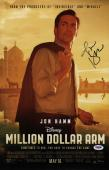 Jon Hamm Signed Million Dollar Arm 11x17 Movie Poster Psa Coa Ad48097