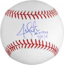 Jon Lester Boston Red Sox Autographed Baseball with No Hitter 5-19-08 Inscription