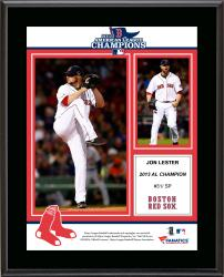 Jon Lester Boston Red Sox 2013 American League Champions Sublimated 10.5'' x 13'' Plaque - Mounted Memories