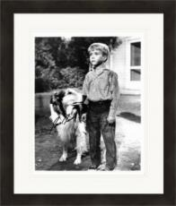 Jon Provost autographed 8x10 photo (Lassie Timmy 67) #1 Matted & Framed