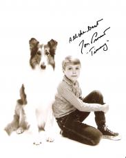 "JON PROVOST ""LASSIE"" as TIMMY MARTIN Signed 8x10 B/W Photo"