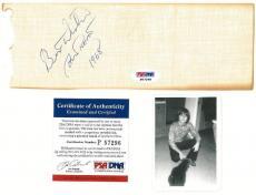 Jon Provost Signed Cut w/ Fan Club Card-Lassie TV Series (PSA/DNA) #P57296