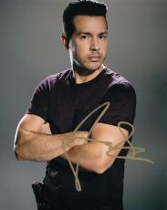 Jon Seda signed Chicago P.D TV Show 8x10 photo w/coa Antonio Dawson #JS4