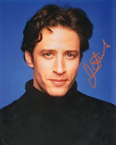 Jon Stewart  Daily Show  Signed  Autographed 8x10 Photo W/ Coa
