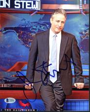 Jon Stewart The Daily Show Signed 8X10 Photo Autographed BAS #C58943