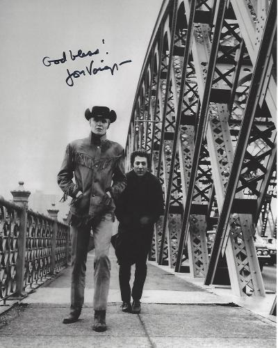"JON VOIGHT as JOE BUCK in 1969 Movie ""MIDNIGHT COWBOY"" Signed 8x10 B/W Photo"