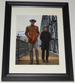 Jon Voight Autographed 8x10 Color Photo (framed & Matted) - Midnight Cowboy!
