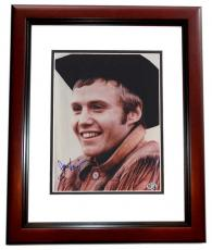 Jon Voight Autographed 8x10 Photo MAHOGANY CUSTOM FRAME