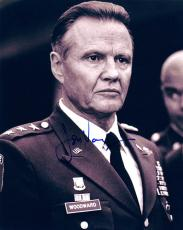 Jon Voight Autographed Most Wanted Marine Woodward Photo UACC RD AFTAL COA