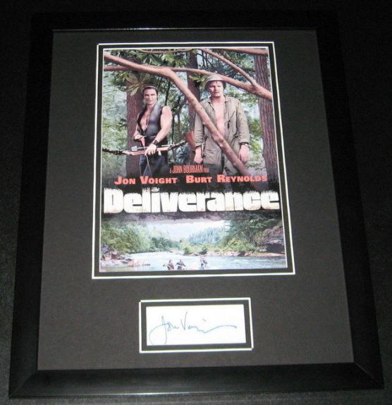 Jon Voight Deliverance Signed Framed 11x14 Photo Display