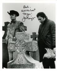 JON VOIGHT HAND SIGNED 8x10 PHOTO+COA    DUSTIN HOFFMAN MIDNIGHT COWBOY   TO BOB