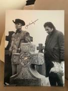 JON VOIGHT HAND SIGNED OVERSIZED 11x14 PHOTO+COA   GREAT POSE MIDNIGHT COWBOY