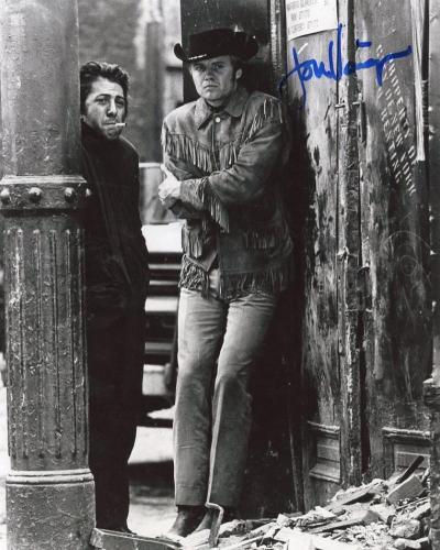 Jon Voight Mickey Donovan Actor Midnight Cowboy B/w Signed  8x10 Photo W/ Coa
