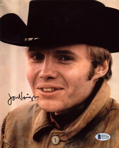 Jon Voight Midnight Cowboy Signed 8x10 Photo Autographed BAS #D71704