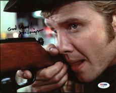 Jon Voight Midnight Cowboy Signed 8X10 Photo PSA/DNA #AC45171