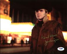 Jon Voight Midnight Cowboy Signed 8X10 Photo PSA/DNA #AC45172