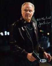 Jon Voight Ray Donovcan  Bas Beckett Coa Hand Signed 8x10 Photo  Autograph