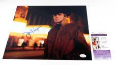 Jon Voight Signed 11 x 14 Color Photo Midnight Cowboy Pose #2 JSA Auto