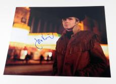 Jon Voight Signed 11 x 14 Color Photo Pose #2 Midnight Cowboy Auto