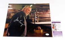 Jon Voight Signed 11 x 14 Color Photo Pose #6 JSA Auto