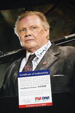 Jon Voight signed 8 x 10, Coming Home, Runaway Train, PSA/DNA X41826