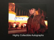 Jon Voight Signed 8x10 Photo Autograph Midnight Cowboy