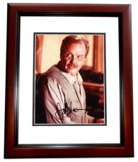 Jon Voight Signed - Autographed Lara Croft Tomb Raider 8x10 Photo MAHOGANY CUSTOM FRAME
