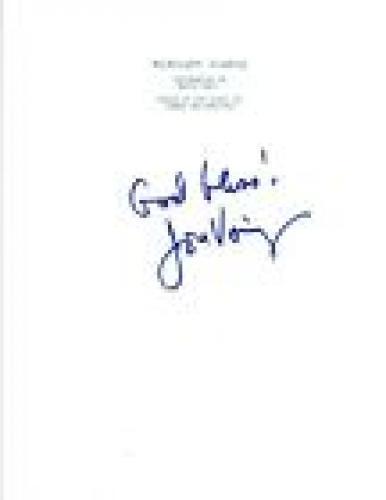 Jon Voight Signed Autographed MIDNIGHT COWBOY Movie Script COA