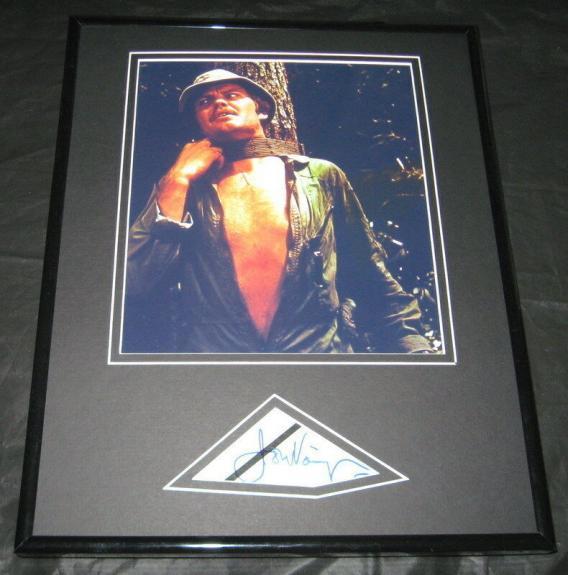 Jon Voight Signed Framed 11x14 Deliverance Photo Display JSA