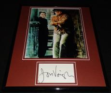 Jon Voight Signed Framed 11x14 Photo Display Midnight Cowboy