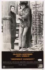 Jon Voight Signed Midnight Cowboy 11x17 Movie Poster W/inscriptions Jsa N37882