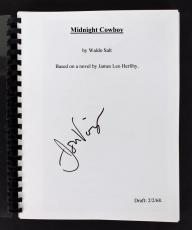 Jon Voight Signed Midnight Cowboy Movie Scipt PSA/DNA #AC46792
