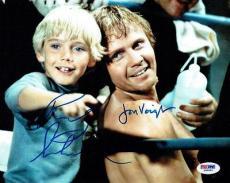 Jon Voight/Ricky Schroeder Signed The Champ Autographed 8x10 Photo PSADNA#Z85962