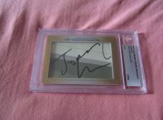 Jonah Hill 2013 Leaf Masterpiece Cut Signature autograph signed auto card 1/1