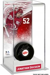 Jonathan Ericsson Detroit Red Wings Deluxe Tall Hockey Puck Case