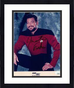 Jonathan Frakes Signed Autographed 8X10 Photo Star Trek TNG Riker JSA QQ36904