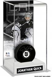 Jonathan Quick Los Angeles Kings Deluxe Tall Hockey Puck Case