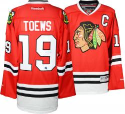 Jonathan Toews Chicago Blackhawks Autographed Red Reebok Premier Jersey