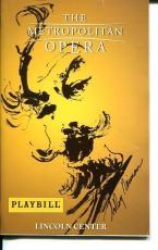 Jonathan Welch Bryn Terfel Flastaff NY Met Opera Leroy Neiman Cover Art Playbill