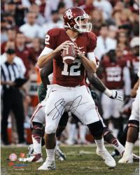 "Landry Jones Oklahoma Sooners Autographed 16"" x 20"" Photograph - Mounted Memories"